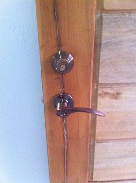 Türdrücker mit zusätzlichem Zylinderschloss