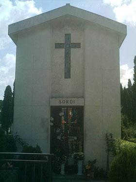 Tomba di Alberto Sordi