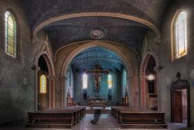 Blu chiesa del monastero