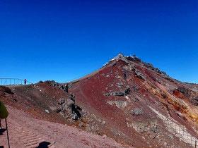 富士山ー剣ヶ峰