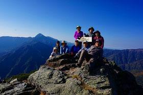 アサヨ峰(3百名山)