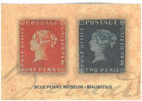 Blaue Mauritius, Blue Penny Museum Mauritius Port Louis Hafen