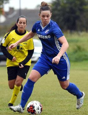 Soll Akzente in der Offensive setzten: Sarah Landinghoff-Schmidt (TuS Großenenglis).