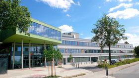 Außenansicht vom BZHK Elbschule in Hamburg