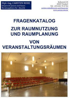 Deckblatt des Fragenkataloges