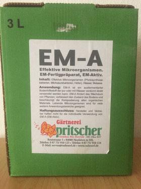 """EM  """"Effektive Mikroorganismen"""" Aktiv"""