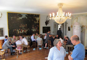 Diskussionszirkel im Rondellsaal - O. Faller J. Breithaupt