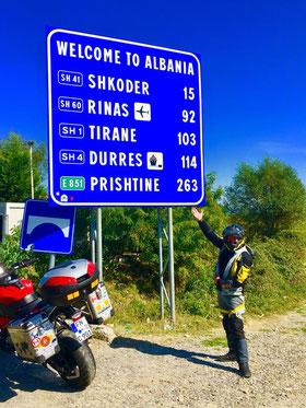 Nur noch 103 Kilometer bis zur Hauptstadt auf besten Straßen