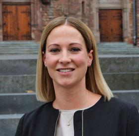 Nadja Doberstein, Ortsvorsteherin von Kleinblittersdorf