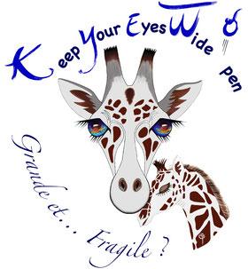 Animaux menacés d'extinction : la girafe est sur la liste.