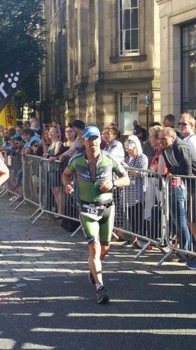 Johann Karner beim abschliessenden Marathon