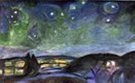 EDVARD MUNCH - Notte di stelle
