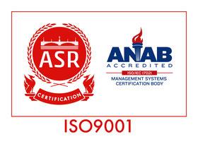 JAB CM035,ISO9001