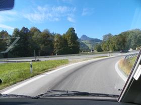 Autobahnauffahrt Oberaudorf