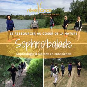 Sophro'balade organisée par Carole BEAUCHAMP du cabinet Réveillance à St Quentin en Yvelines - 78