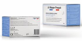 Boîte de masques chirurgicaux Le Masque Français.