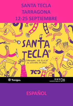 Fiestas en Tarragona Festes de Santa Tecla Programa y cartel
