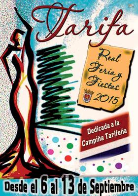 Real Feria y Fiestas de Tarifa 2015 Cartel y Programa