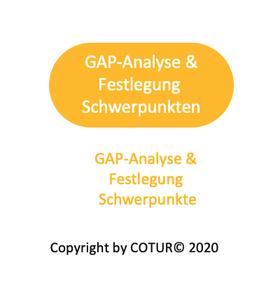 Leadershape by COTUR® - GAP-Analyse und Festlegung Entwicklungsschwerpunkte