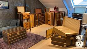 malle de collection Louis Vuitton