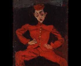 """Tableau """"Le Groom"""" de Chaim Soutine."""