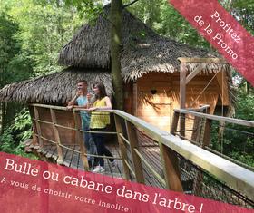 Cabane dans les arbres- bulle-tipi-location insolite-baie de somme