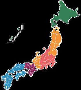 全国配達区分地図