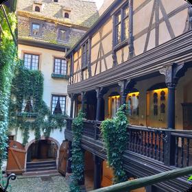 Cour du Musée Alsacien