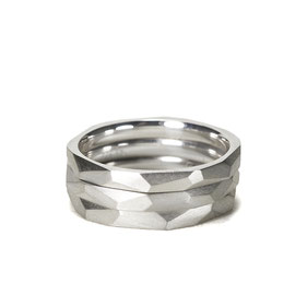 Lovestory Stapelringe in Silber