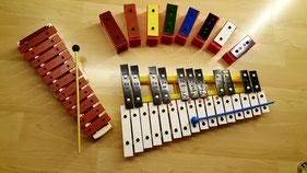 Noten lernen, leicht, Spaß, einfach erklärt, Kinder, Erwachsene, Xylophon, Glockenspiel