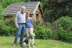 Ihre Gastgeber in Bad Honnef am Rhein, die Familie Goosmann.