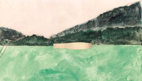 studi d'aquarel dall'OGNA da Matias Spescha