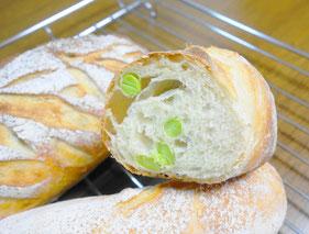 飾りクープのパン