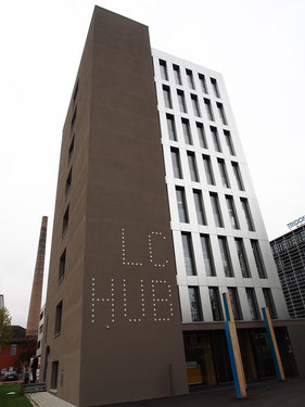 8階建の木造ビル