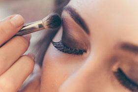 Make-up, Makeup, Schminken, Schönheit, Anlass, Hochzeit, Event, Fest, Glamour