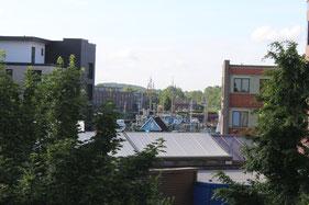 Stade Stadthafen an der Schwinge, 300m entfernt von der Ferienwohnung