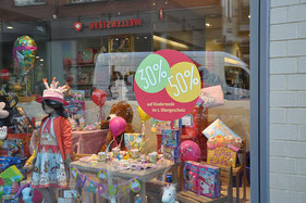MuKK, Münsters ungewöhnliches Kinderkaufhaus, Handzettel, Plakat, Newsletter