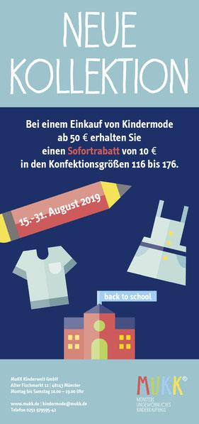 Image Design. Plakat für die neue Kollektion 2019. Für die Firma MuKK von Funkenflug Design Münster