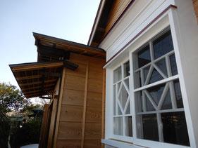 築90余年 古民家再生 洋間の窓