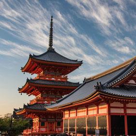 Kyoto ed il Kiyomizu-dera