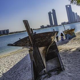 Emirati Arabi - Heritage Village di Abu Dhabi