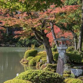 Splendidi paesaggi del Kenroku-en