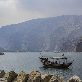 Penisola del Musandam in Oman