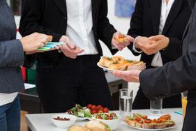Catering für Tagungen oder Betriebsfeiern von Firmen