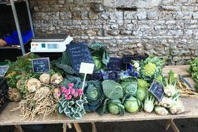 légumes de saison à la Pérotonnerie de Rom - 79