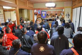 坂本龍馬慰霊祭提灯行列(京都龍馬会主催)