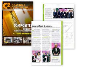 Coating & Converting – Ausgezeichnete Gewinner