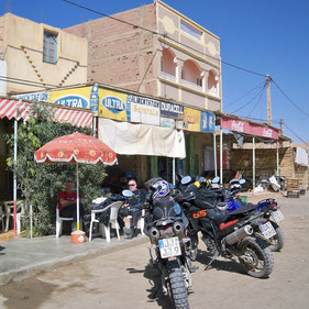 Kaffeepause in Merzouga
