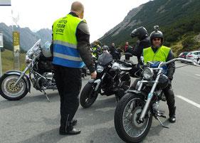 Fahrspaß auf Alpenpässen