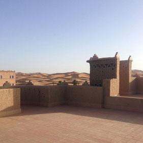 Merzouga am Rande der Sahara beim Erg Chebbi